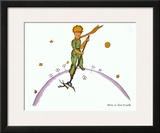 Petit Prince au Travail Prints by Antoine de Saint-Exupéry