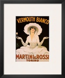 Vermouth, Martini & Rossi Prints by Marcello Dudovich