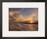 Corpus Christi Sunset Prints by Mike Jones