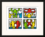 Pop Shop Quad I, c.1987 Print by Keith Haring