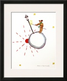 The Lamp Lighter Print by Antoine de Saint-Exupéry