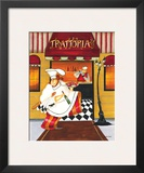 Trattoria Poster by Jennifer Garant