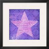 Superstar Purple Poster by Suzanna Anna