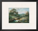 Hill Country Morning Prints by Larry Dyke
