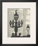 Architectural Paris III Print by Marc Olivier