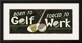 Funny Golf III Prints by  Pela