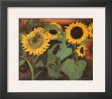 Sunflowers Prints by Emil Nolde