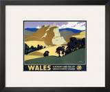 Wales Undiscovered Charm Prints