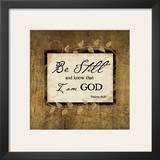 Be Still Prints by Jennifer Pugh