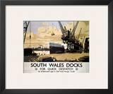 South Wales Docks Art