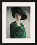 La Femme au Chapeau Noir Poster by Kees van Dongen