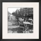 Terrasse Du Coin Prints by Carl Ellie