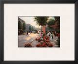 Morning Flower Market, Paris Prints by Christa Kieffer