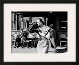 Suzy Parker and the Old Man Prints by Georges Dambier