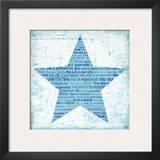 Superstar Blue Art by Suzanna Anna