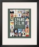 Alfabeto do Cinema de A a Z, anos 1960 Posters por Stephen Wildish