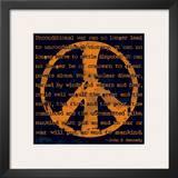 Peace Sign III Art by Sylvia Murray