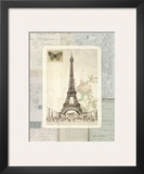 Paris Sketchbook Posters by Lynnea Washburn