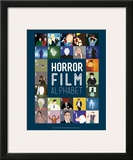 Horror Film Alphabet - A to Z Art by Stephen Wildish