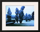 Wrapped Trees X Print by  Christo
