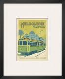 Melbourne, Australia Prints by  Anderson Design Group