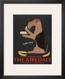 Airedale Famous Banana Cream Pie Prints by Ken Bailey