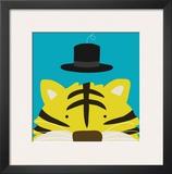 Peek-a-Boo XI, Tiger Print by Yuko Lau