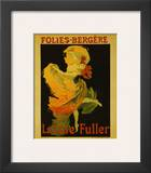 Folies Bergere Print by Jules Chéret