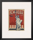New York, NY (Statue of Liberty) Print by  Anderson Design Group