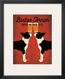 Boston Terrier Brewing Co. Prints by Ryan Fowler