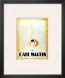 Le Cafe Martin Print