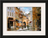 Couillard Street, Quebec Prints by Ginette Racette