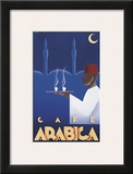 Café Arabica Framed Giclee Print by Steve Forney
