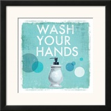 Wash your Hands Prints by Drako Fontaine