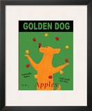 Golden Dog Poster by Ken Bailey