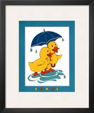 Ducks, Share Print by  Lopez