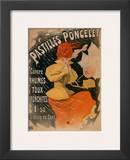 Pastilles Poncelet Posters by Jules Chéret