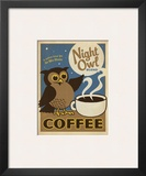 Night Owl Blend Coffee Posters by  Anderson Design Group
