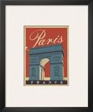 Paris, France (Arc) Prints by  Anderson Design Group