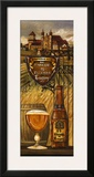 Belgium Beer Poster by Charlene Audrey