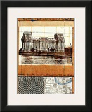 Wrapped Reichstag XII Print by  Christo