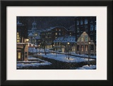Old Montreal Prints by Denis Nolet