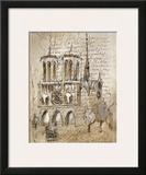 Notre Dame Prints by Elizabeth Jardine