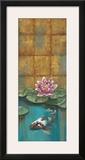 Golden Koi II Prints by Selina Werbelow
