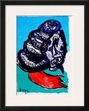 129 (One Cent Life) Print by Karel Appel