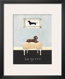 La Grrr Print by Emily Adams