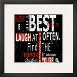 Laughter Posters by Carole Stevens