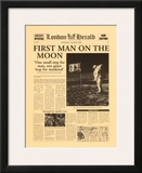 First Man on the Moon Prints