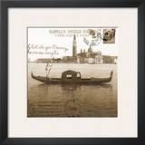 Vintage Venezia II Poster by Carole Stevens