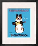 Shepherd Brand Steak Sauce Print by Ken Bailey